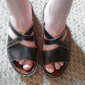 Naot Brown Sandals - Sz. 37